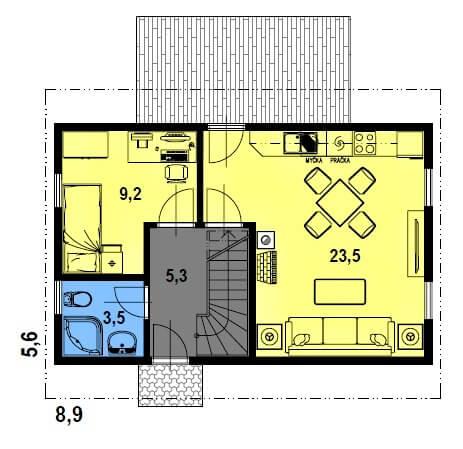 Dům do 50m2